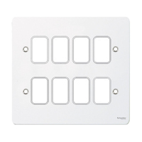 Flat Plate G Painted White GANG PLATE|LV0701.1033