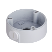 IC Realtime White - Round Junction Base for Bullet and Dome cameras