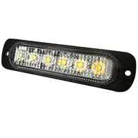 LED Directional Warning Light | Amber | Reg 10