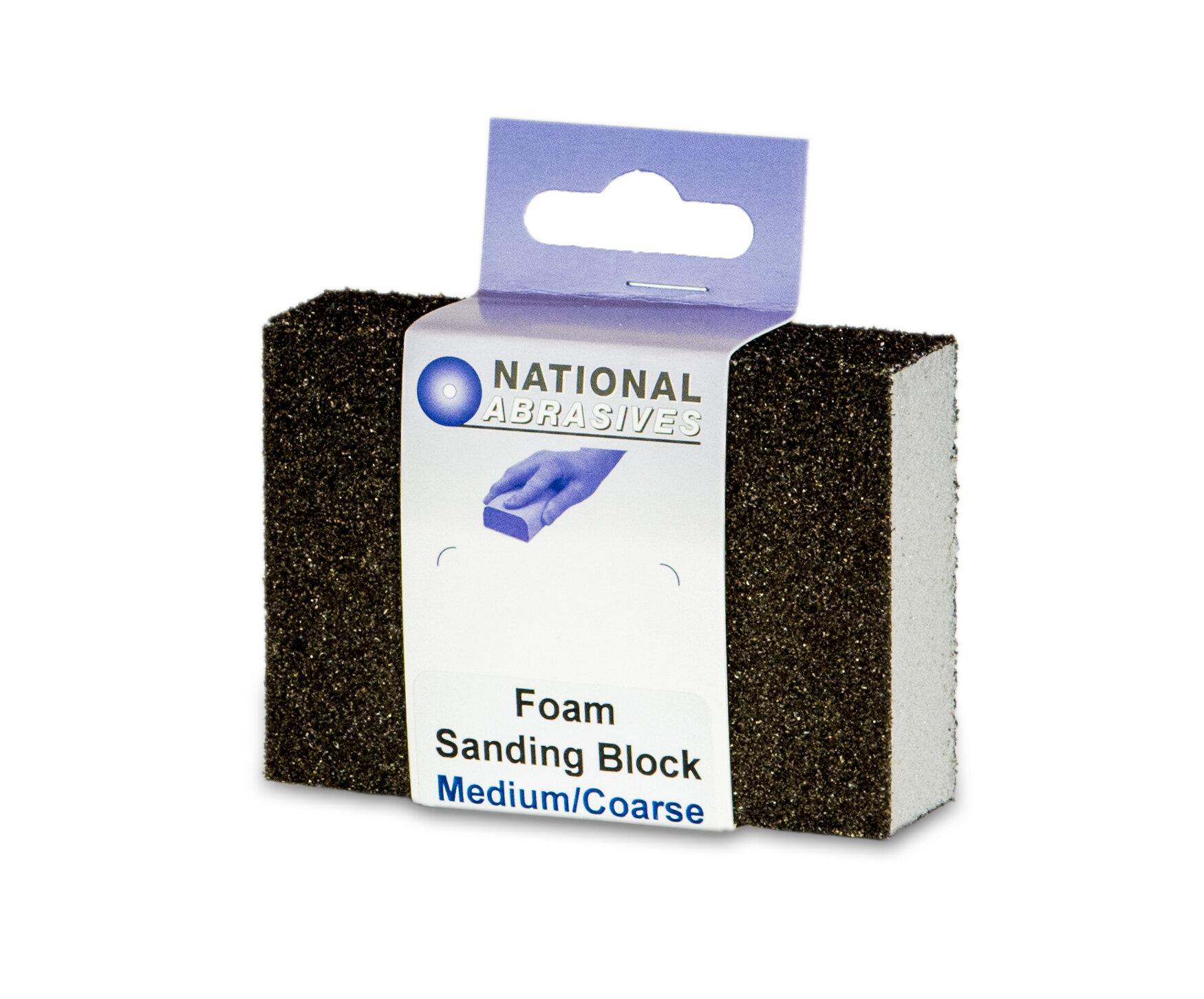 SANDING BLOCK MEDIUM/COARSE