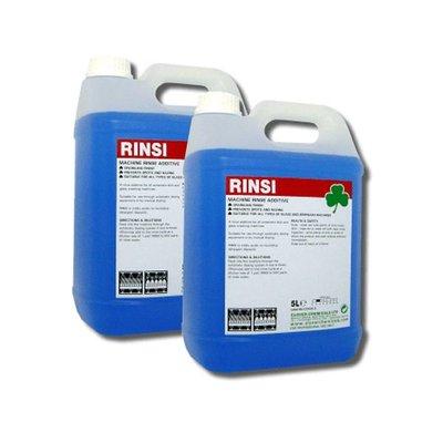 Rinsi Auto Rinse Aid 2 x 5Ltr