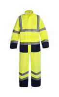 Satexo Hi-vis Rainsuit with PU coating