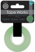 Tape Glitter Solid Green (Priced in singles, order in multiples of 4)
