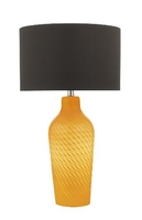 Cibana Table Lamp Dual Source, Yellow with Shade | LV1802.0122