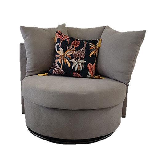 Jack Light Grey Swivel Chair