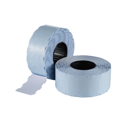 LYNX NOR D 24x11mm (WITH SLITS) Labels - White Removable (Box 45k)