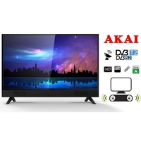"Akai 32"" HD TV Saorview,Smart, Soundbar"