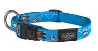 "Rogz Comic Large (Beach Bum) Adjustable Collar 13""-22"" x 1"
