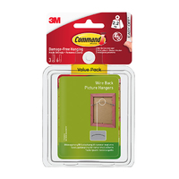 Command Wire-Backed Picture Hanger 3pk 17043