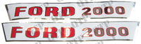 Decal Kit Ford 2000 Pre Force