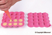 25.321.19.0069 Cake Pop Moulds 16x14ml 215x210x210mm