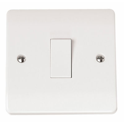 Click Mode CMA011 1G 10A 2 Way Plate Switched