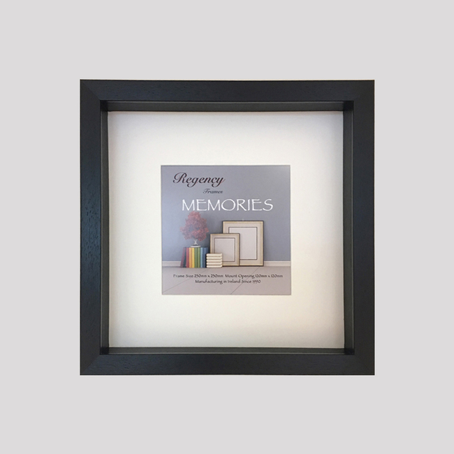 Memories Box Frame Black 23 x 23cm