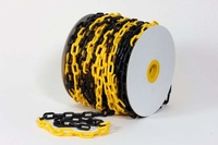 Plastic Chain bl/ye 6mm 1050     DY2700552