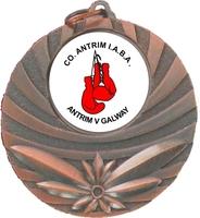 50mm Antique Wreath Medal (Antique Bronze)