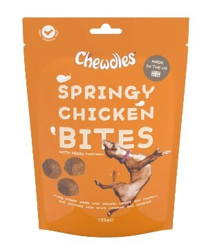 Chewdles Springy Chicken Bites 125g x 5