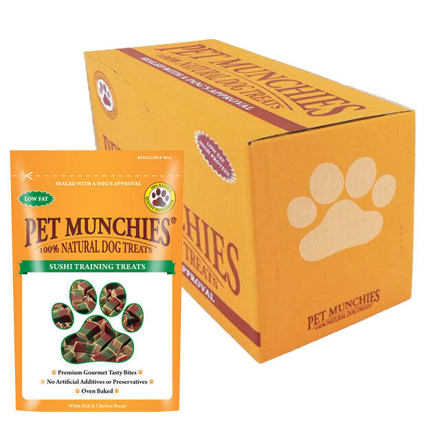 Pet Munchies Sushi Training Treat 8 x 50g