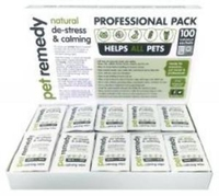 Pet Remedy De-Stress & Calming Wipes - Box of 100 Sachets x 1