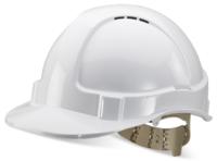 BBVSH Premium Comfort Helmet White