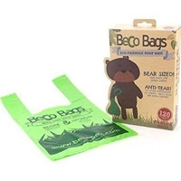Beco Biodegradable Poop Bags with Handles 120 Bags x 1
