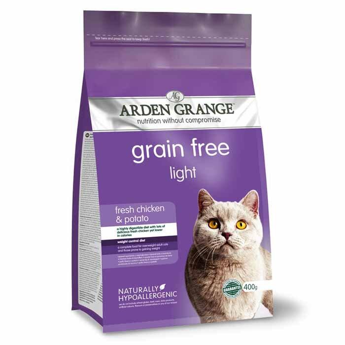 Arden Grange Light – grain free – fresh chicken & potato