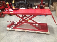 MOTORCYCLE AIR / HYD SCISSOR  LIFT  TARANTO MCL