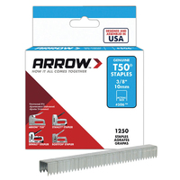 Arrow T50 Staples 10mm 3/8'' - A50624 - 4x1250
