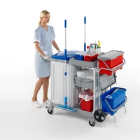 Healthcare & Hospital Cleaning Trolleys