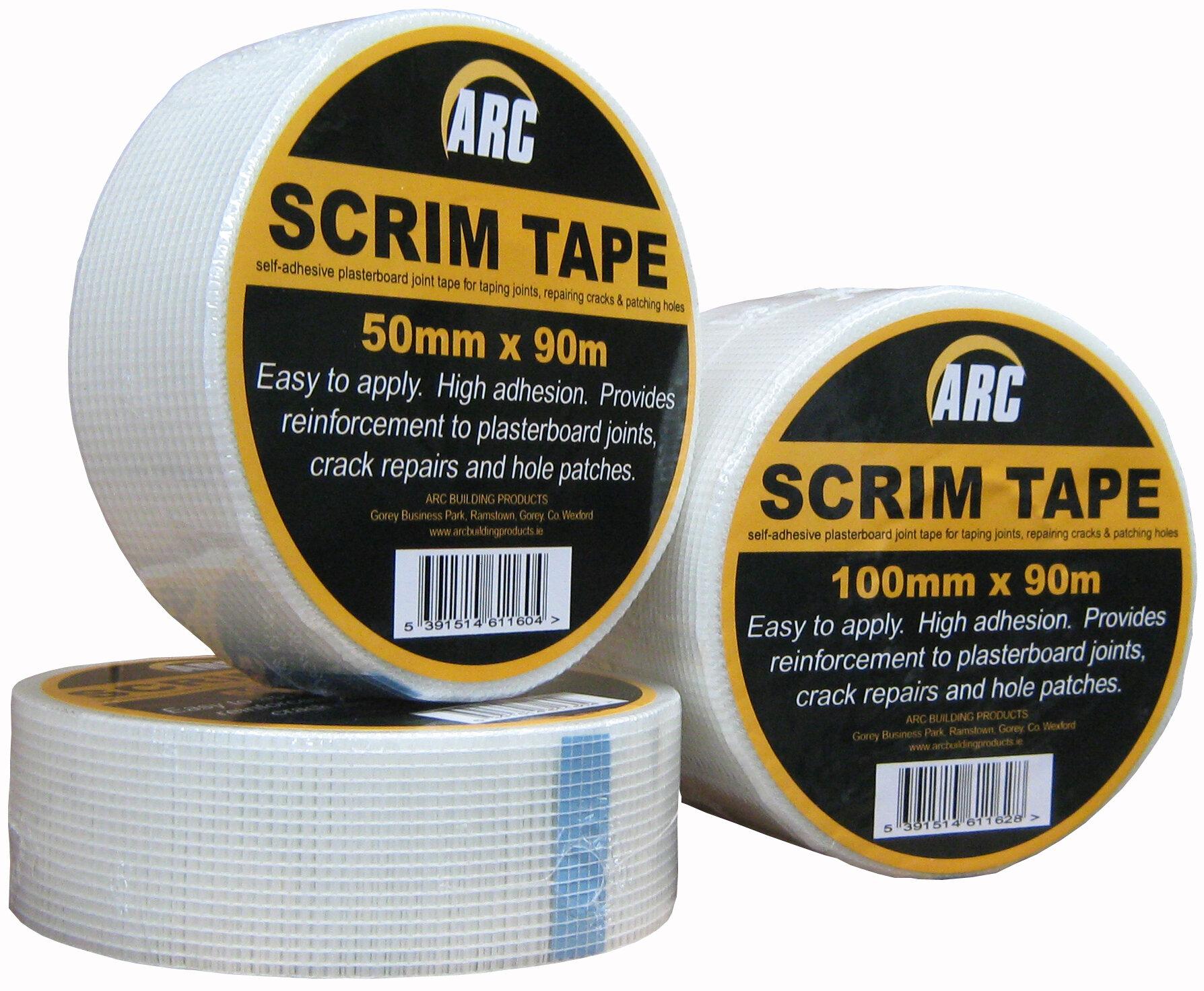 "ARC SELF ADH SCRIM 3""x90m"