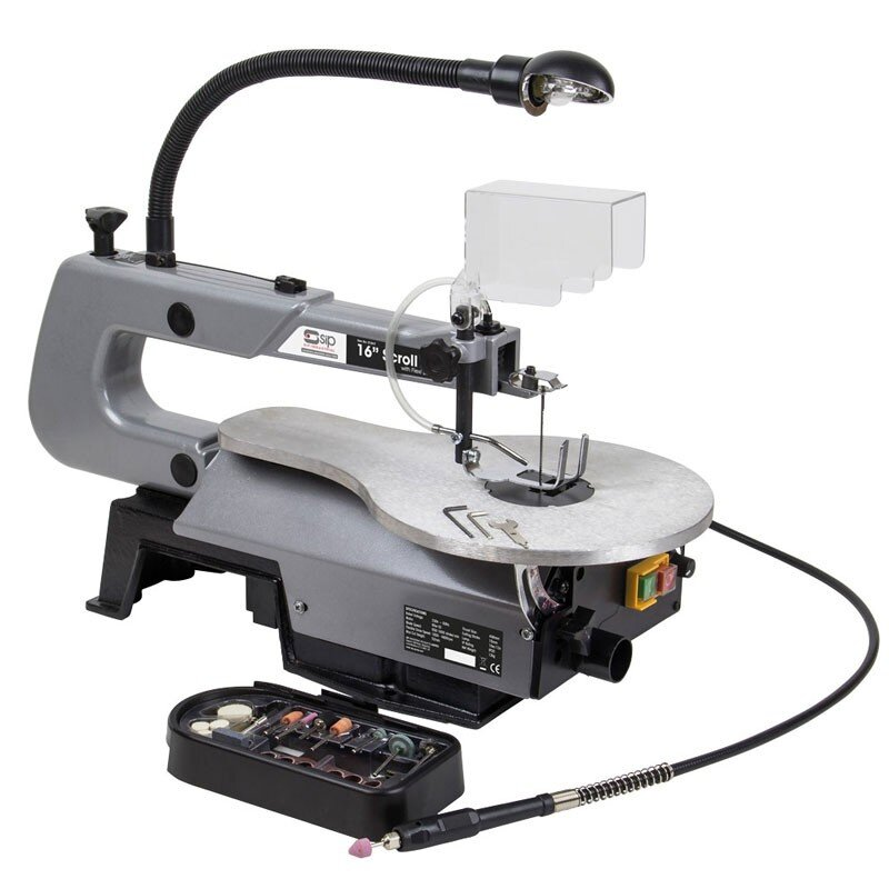 """SIP 01947 16"""" Scroll Saw with Flexi Drive Shaft"""