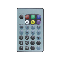 LEDJ IR Remote for HEX Fixtures (RGBWAUV)