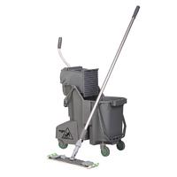 Microfibre flat mop starter kit