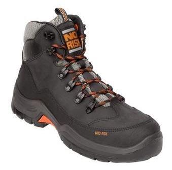 NO RISK McKenzie Safety Boot Black S3 SRC