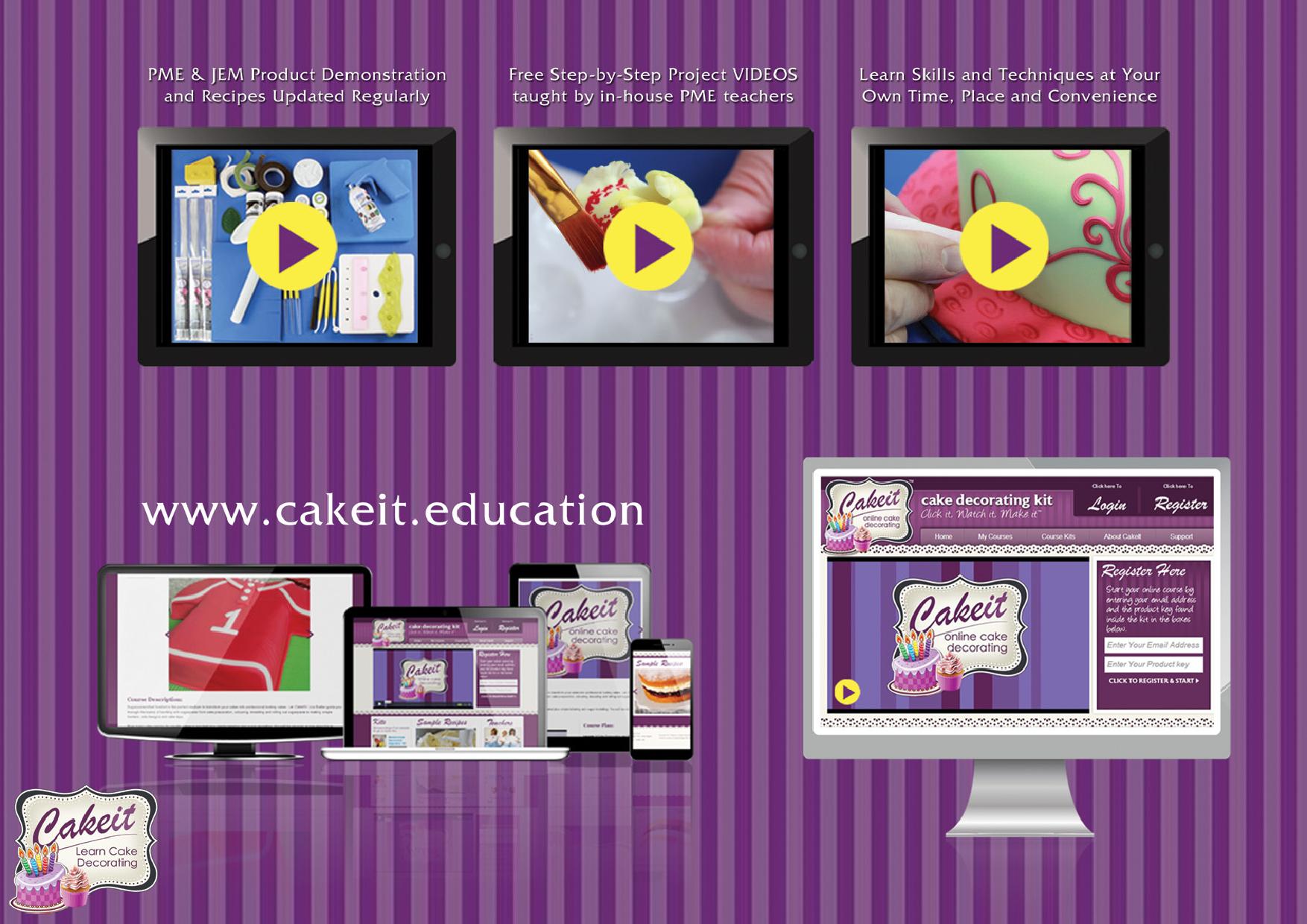 OCD001 - CAKE IT (online cake class)