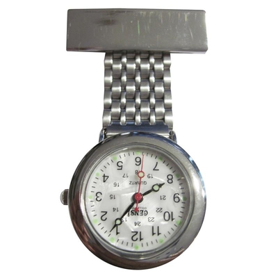 Fob Watch Nurses Silver Finish