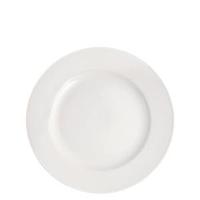 """Pure White Wide Rim Plate 8""""(20.25cm)"""