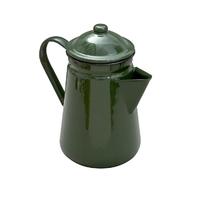 Falcon Enamel Coffee Pot 13cm/1.3L in Green