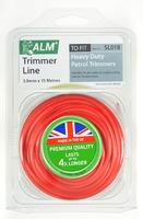 ALM Round Trimmer Line (15m X 3.0mm) For H/D Petrol Trimmers - SL018