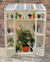 VICTORIAN TALL WALL GREENHOUSE - VICTGHHD