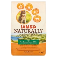 Iams Cat Complete Naturally New Zealind Lamb & Rice 2.7kg x 1
