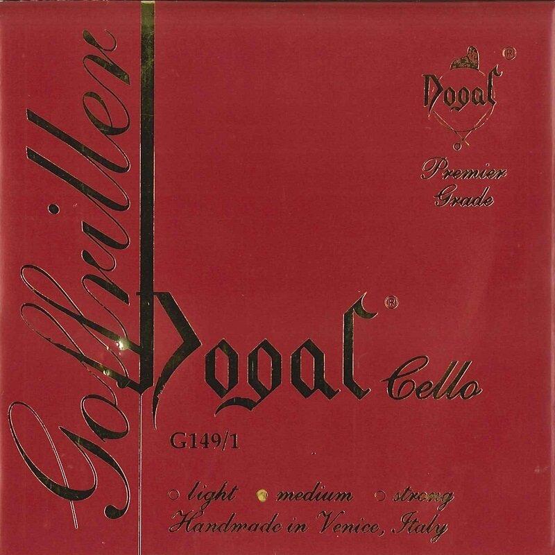 Dogal Goffriller cello string, C 4th
