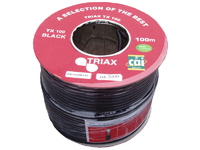 Triax TX100 Cable 100mtr - Black