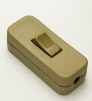 2A IN LINE SWITCH GOLD