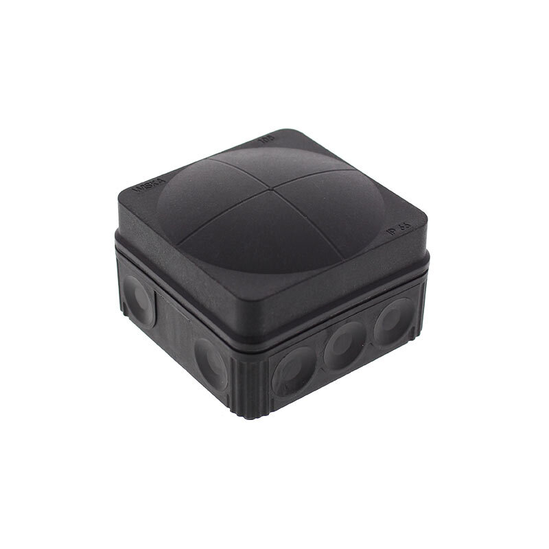 Wiska Combi 108 Junction Box Black 10061998