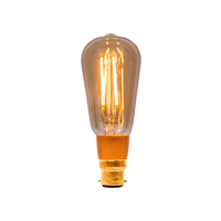 Bell 4W LED BC Vintage Squirrel Amber Dimmable