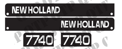 Decal Kit New Holland 7740