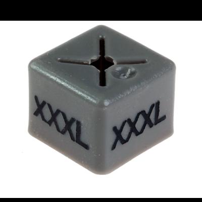 SHOPWORX CUBEX 'Size XXXL' Size cubes - Grey(Pack 50)