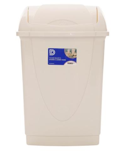 DOSCO 55059 50Ltr SWING LID PLASTIC BIN