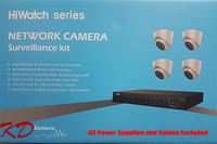HiWatch IP 4MP 4 Channel 4 Camera KIT
