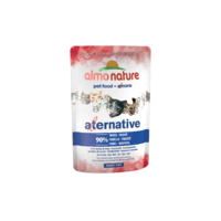 Almo Nature Adult Cat Pouch Alternative Label Trout 55g x 24